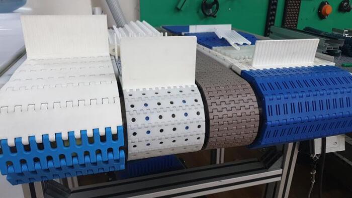 băng tải chất liệu bằng nhựa