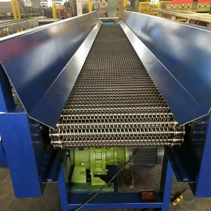 băng chuyền tải chất liệu lưới inox