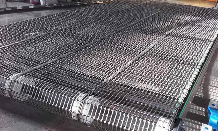 băng chuyền tải lưới inox