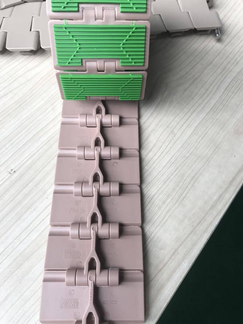 cấu tạo băng tải xích bằng nhựa