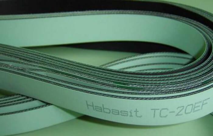 Mẫu dây đai dẹt của thương hiệu Habasit