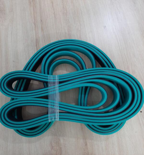dây đai dẹt đắp cao su