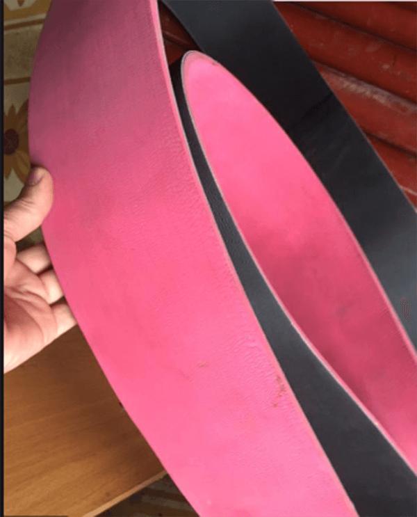 mẫu dây đai dẹt đắp cao su